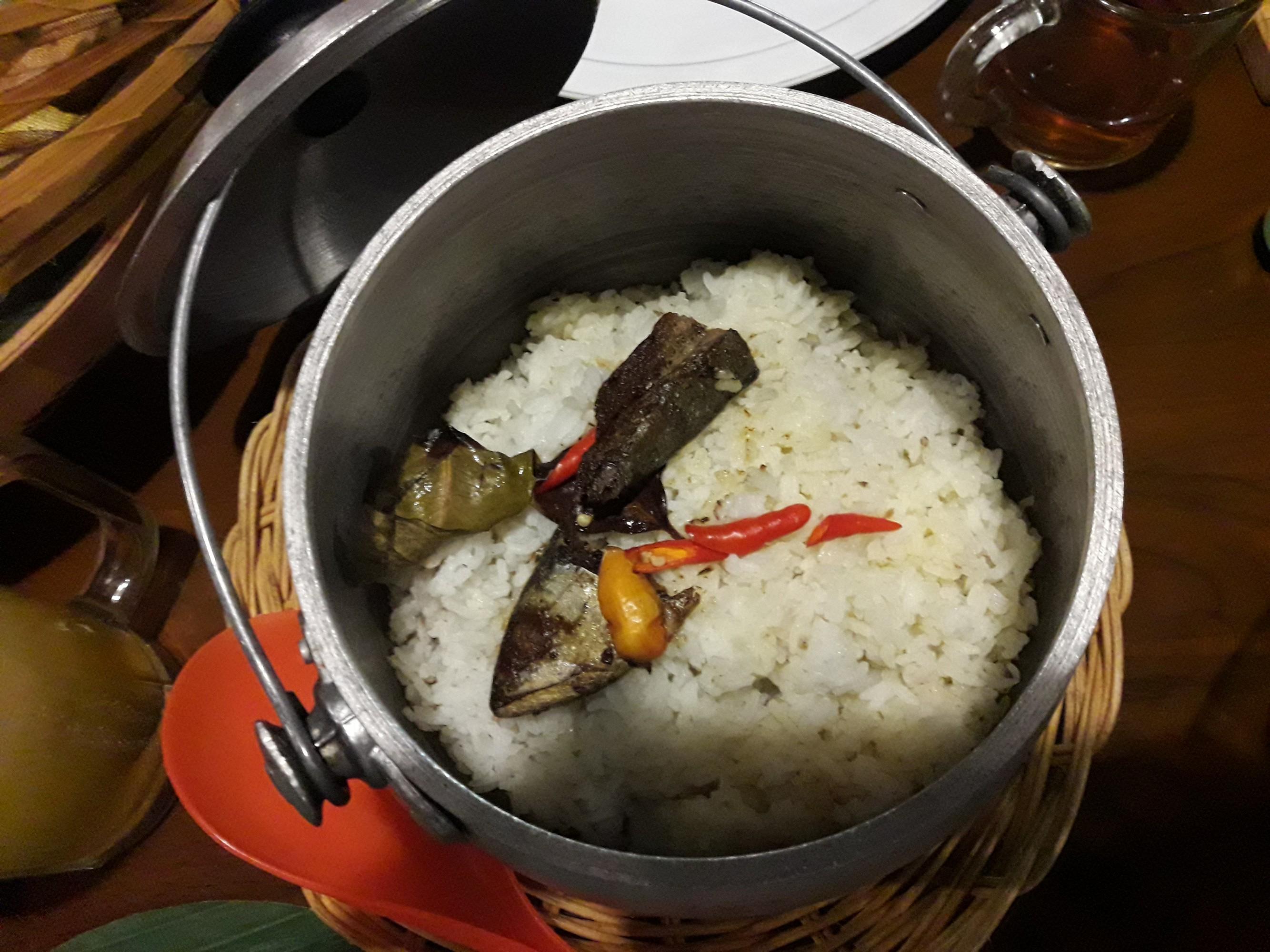 nasi liwet peda