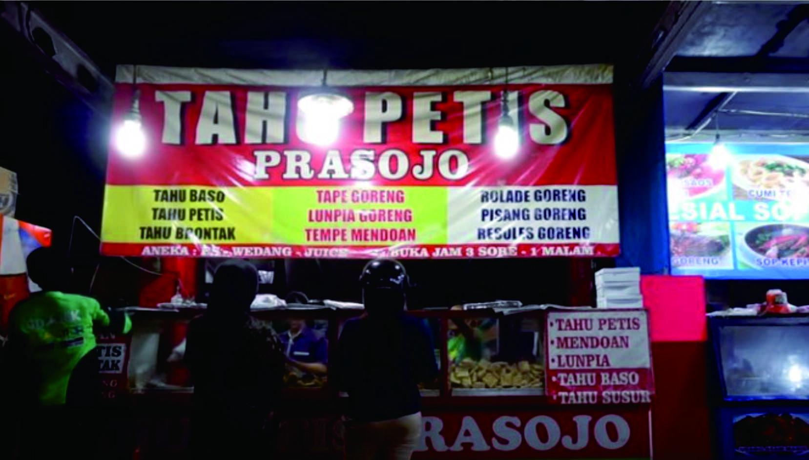 Tahu Petis Prasojo Simpang Lima, Jajanan Legendaris Khas Semarang