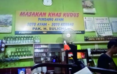 Lezatnya Nasi Pindang H Sulichan, Kuliner Andalan Kota Kudus