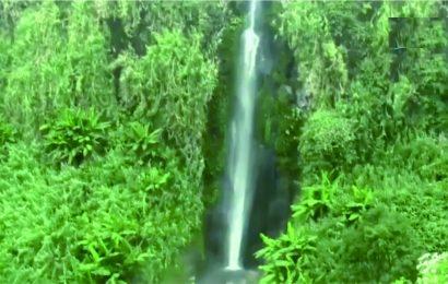 Menikmati Segarnya Sumber Air Panas di Curug Sirawe Banjarnegara