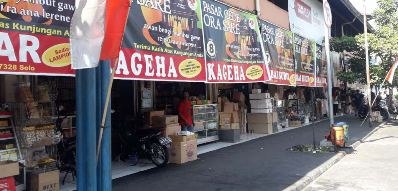 Pasar Gede Solo, Pasar Tertua yang Dibangun Zaman Kolonial Belanda