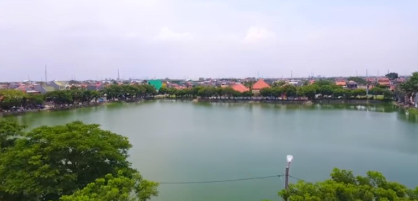 Ternyata Bekasi Punya Wisata Danau Marakash Babelan yang Cantik