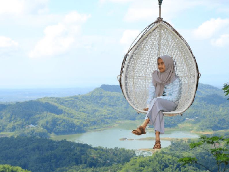 Bukit Wisata Pulepayung, Indahnya Alam Perbukitan dari Ketinggian