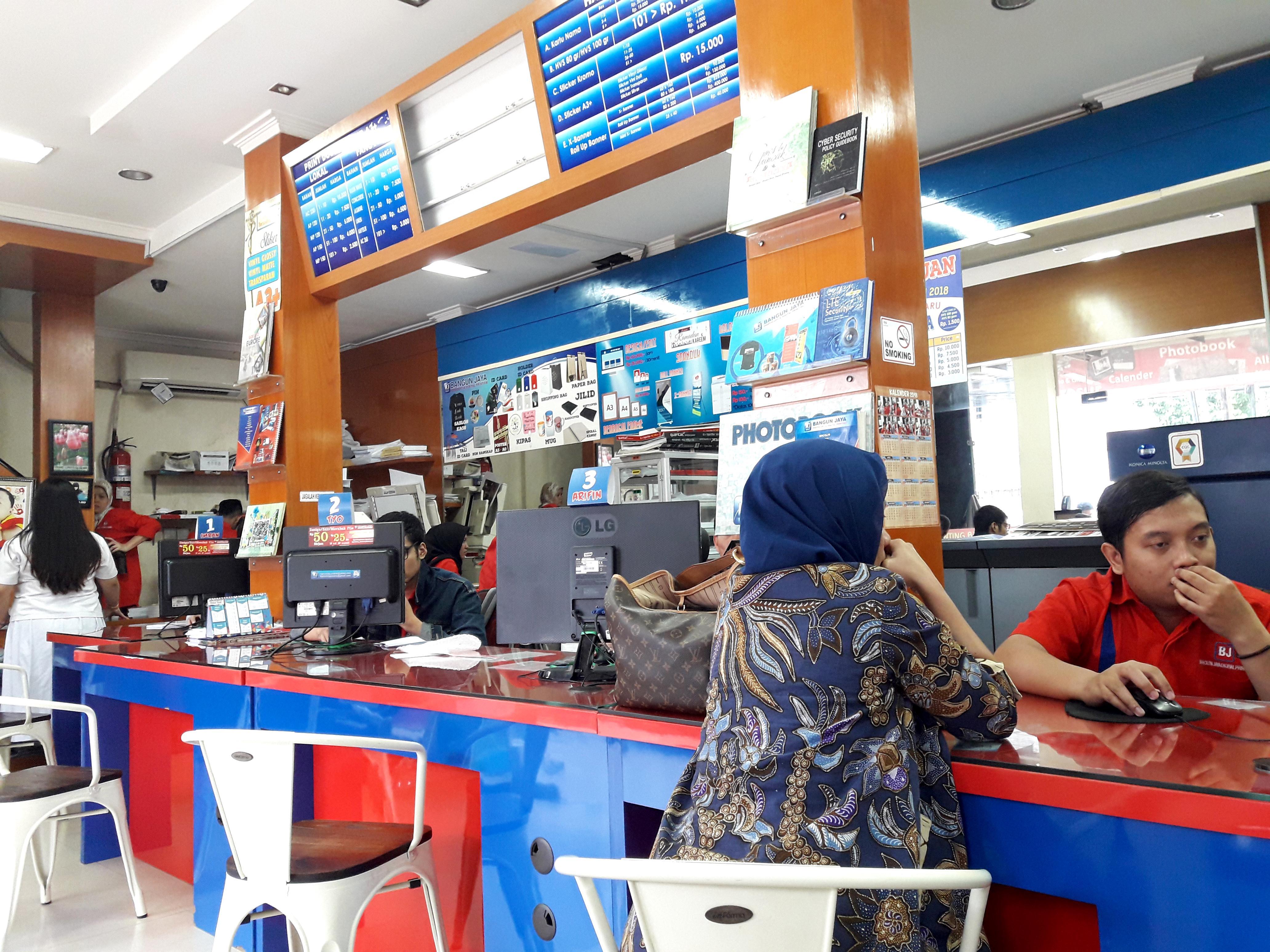 Bangun Jaya Cinere, Tempat Cetak Cepat dan Murah