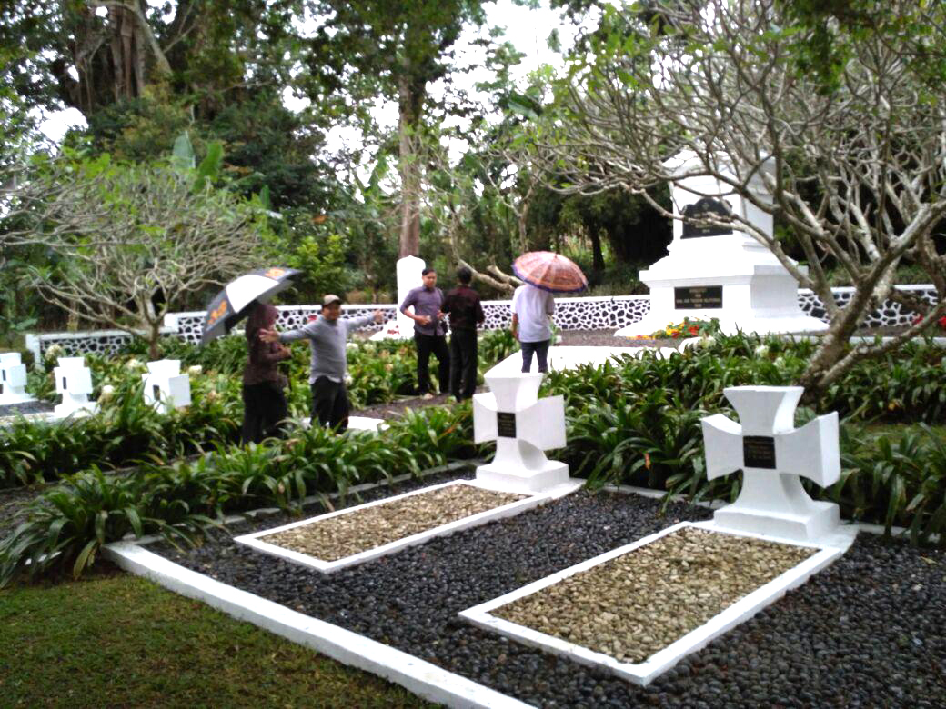 Makam Tentara Jerman di Bogor, Peninggalan Perang Dunia I