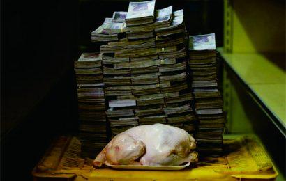 Inflasi di Venezuela Sangat Parah, 1 Ekor Ayam 14 Juta Bolivar