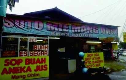 Enaknya Soto Mie Mang Ohim Bogor, Dagingnya Besar dan Lembut