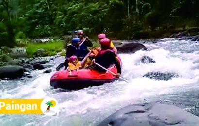 Menguji Adrenalin di Lokasi Wisata Kali Paingan Pekalongan