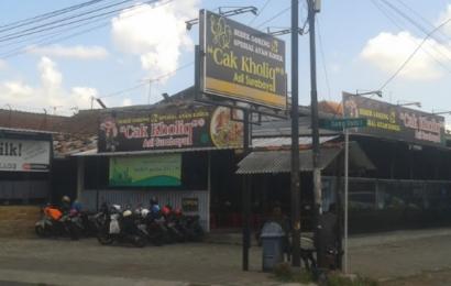 Rumah Makan Cak Kholik, Spesialis Bebek dan Ayam Goreng Kosek