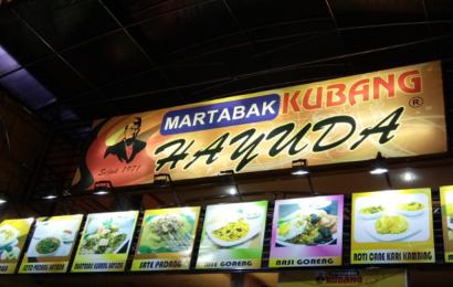 Lezatnya Sajian Legendaris Khas Minang di Martabak Kubang Hayuda