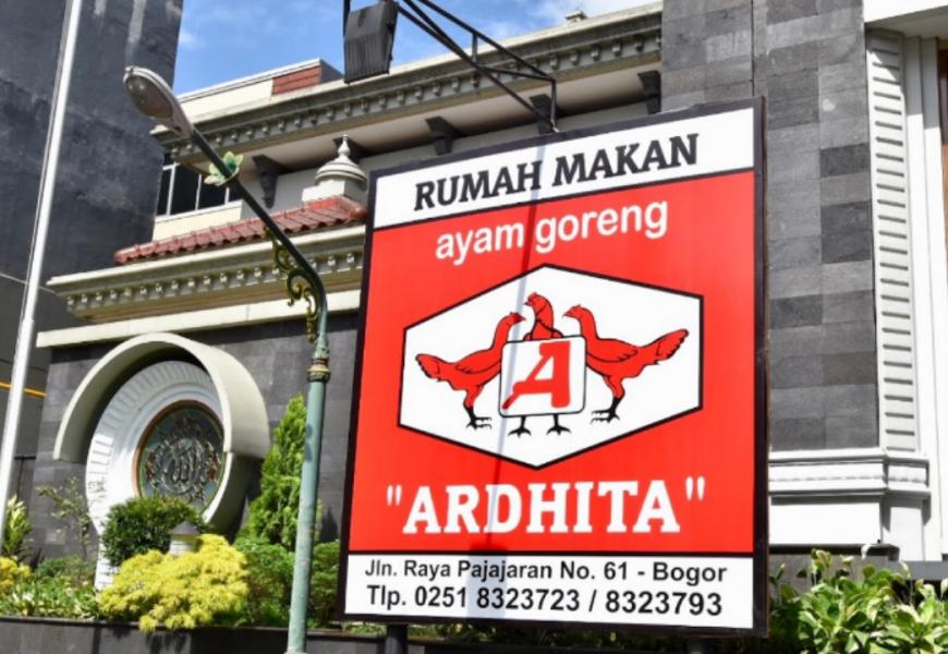 Rumah Makan Ayam Goreng Ardhita, Lezatnya Sajian Ayam di Bogor